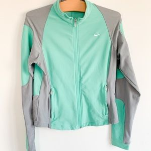 NIKE Fit Dry Zip Up